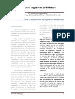 2008. Triage en Urgencias Pediátricas