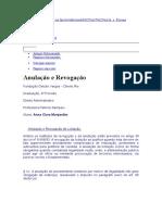 Anulação e Revogação de LICITAÇÃO - Fgv