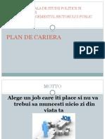 Plan de Cariera