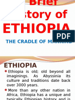 Brief History of ETHIOPIA