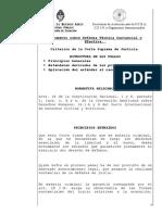 Criterios de La Corte Suprema Defensa Efectiva