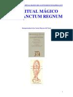 El Ritual Magico Del Santum Regnum