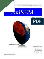 Manual Axisem1.1