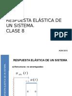 2015 UTEM SISMICIDAD CLASE 8 Respuesta Elastica de Un Sistema