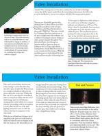 what is video instillation11