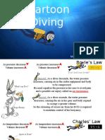 cartoon diving
