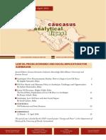 Caucasus Analytical Digest 83