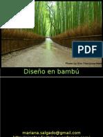 diseño en bambú