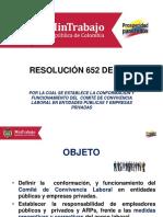 COMITE DE CONVIVENCIA