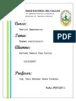 Examen  Gestion Empresarial