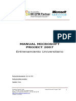 Manual Project Professional 2007