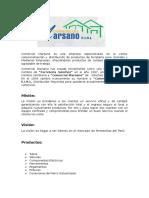 Comercial Marsano Es Una Empresa Especializada en La Venta