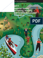 2011 national survey of fishing hunting and wildlife-associated recreation-part 1