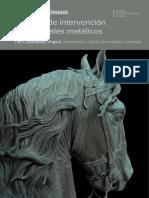 ZCriterios de Intervención en Materiales Metálicos