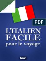 Italien Facile Pour Le Voyage
