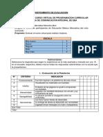 Instrumento de Evaluación Zoila Morocho