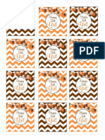 Happy Fall y All Cupcake Toppers PDF
