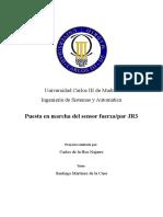 Puesta en Marcha Del Sensor Fuerza_par JR3