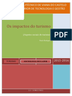 Os Impactos Do Turismo