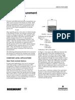 Density Measurement DP Pressure