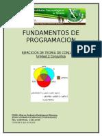 EJERCICIOS DE TEORIA DE CONJUNTOS 2.