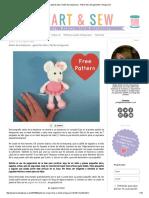 Corazón & Sew_ Ratón de La Bailarina - Patrón Libre Del Ganchillo _ Amigurumi