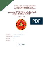 El Código de Ética Del Cip (8vo Informe)