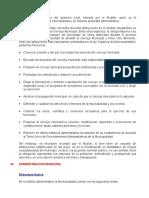 Practica de Derecho Municipal.
