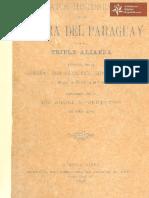 Datos Históricos de la Guerra de la Triple Alianza escritos por el General Don Francisco Isidoro Resquín, en el año 1875 publicados por el Dr. Angel M. Veneroso el año 1895ed