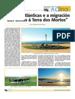 As Ilhas Atlanticas e a Migraçao Das Almas a Terra Dos Mortos.