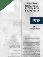 Problemas literarios y estéticos - Mijaíl Bajtin