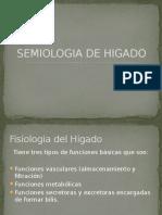 Semiologia de Higado Vesicula Biliar