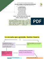 Santos Guerra. La escuela que aprende (Mapa)