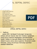 Atrial Septal Defec -clinical anatomy-