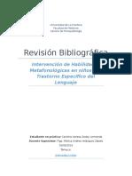 Habilidades Metafonológicas en TEL (Vanesa Godoy)