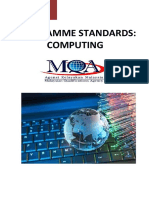 Program Standards Computing