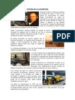 Historia de La Locomotora