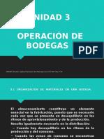 3 Unidad Operación de Bodegas