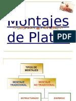 Unidad 4 Montajes de Platos