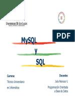Programación Orientada a Base de Datos - SQL