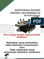 identifikasi pelayanan pkm