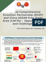 Presentation-RCEP and CAFTA