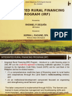 Integrated Rural Financing Program (Irf) - Rhennel
