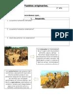 Pueblos Originarios guia 2do básico