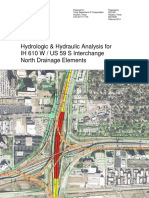 DRAFT - 2014-02 Hydrologic and Hydraulic Analysis for 610-59 Interchange - North