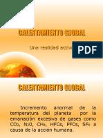 CaleCALENTAMIENTO GLOBAL
