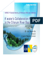 NARBO_Ko-water Collaboration Activity-Citarum River