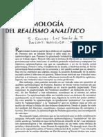 La epistemología del realismo analítico