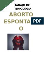 Trabajo de Embriologia