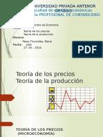 Teoría de Los Precios y de Produccion